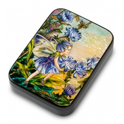 "Russian Painted Box Fedoskino ""Chicory"""