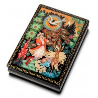 "Russian Painted Box Palekh ""Firebird"""