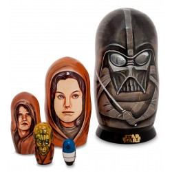 """Star Wars"" Set of 5 Miniature Nesting Dolls"