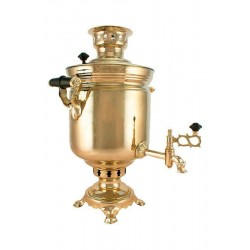 Charcoal-burning samovar 7 liters «Classic» second quality