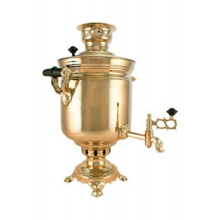 Charcoal-burning samovar 5 liters «Classic» second quality