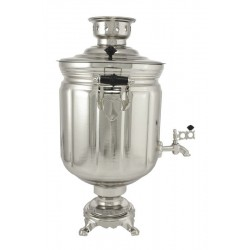 Electric samovar 10 liters «Jar» nickel-plated