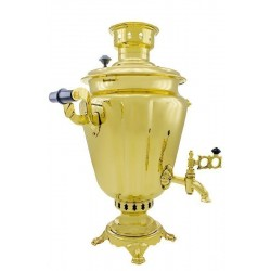 "Combined samovar 5 liters ""Wineglass"""