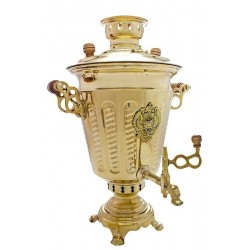 Charcoal-burning samovar 5 liters «Suksun»