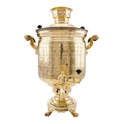 Charcoal-burning samovar 7 liters «Chukotka»