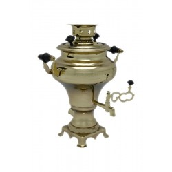 Electric samovar 1 liter «Turnip» with shine coating