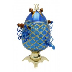 Electric samovar 2,7 liters «Easter egg» (with automatic power off)