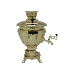 Electric samovar 2 liters «Peg top»with shine coating and automatic power off