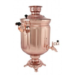 Electric samovar 10 liters «Jar» copperplated (with automatic power off)