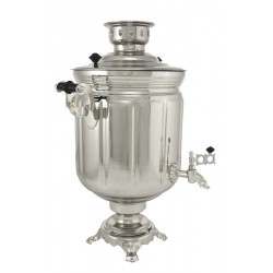 Electric samovar 10 liters «Jar» nickel-plated (with automatic power off)