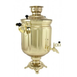 Electric samovar 10 liters «Jar» with shine coating and automatic power off