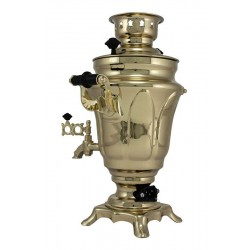 Electric samovar 1,5 liters «Tulip» with shine coating and automatic power off