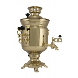 Electric samovar 3 liters «Jar» with shine coating