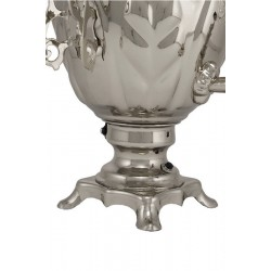 Electric samovar 3 liters «Acorn» nickel-plated (with automatic power off)