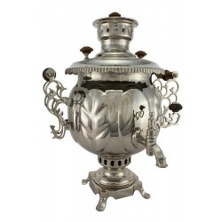 "Combined samovar 4,5 liters ""Ball"" (nickel)"