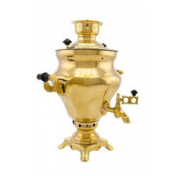 Charcoal-burning samovar 2,5 liters «Vase»