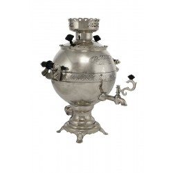 Electric samovar 3 liters «Ball» nickel-plated