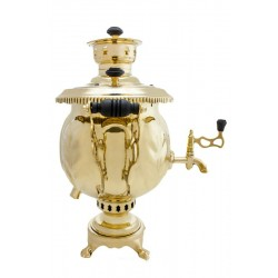"Combined samovar 4,5 liters ""Ball"""