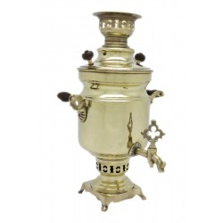 Charcoal-burning samovar 2,5 liters «Egoist»