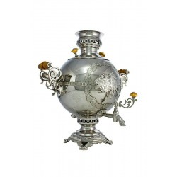 Charcoal-burning samovar 5 liters «Threesome»