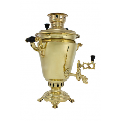 Charcoal-burning samovar 5 liters «Traditional» second quality
