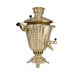 Charcoal-burning samovar 7 liters «Sickle» second quality