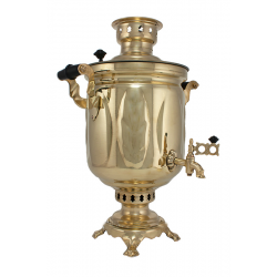 Charcoal-burning samovar 5 liters «Oak grove» second quality