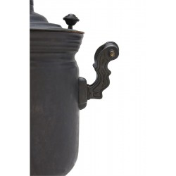 Charcoal-burning samovar 7 liters «Classic», patina