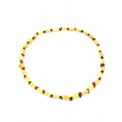 "Beads from natural Baltic amber bright ""Summer Breeze"""