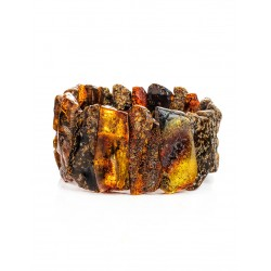 """Bracelet made of natural Baltic amber with a curative effect """"Pompeii"""""""
