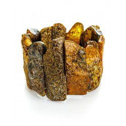 """Bracelet of raw amber with a curative effect """"Pompeii"""""""