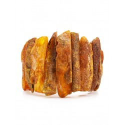 """Bracelet with the therapeutic effect of natural Baltic amber """"Pompeii"""""""