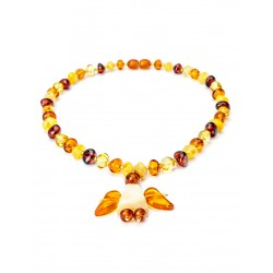"Decorative beads for children from natural amber ""Angelok"" for children"