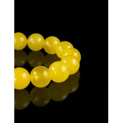 "Bracelet ""balls"" of beads beads Baltic amber honey-colored"