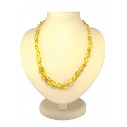 """Amber beads """"Olive citric fine"""""""