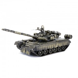 Scale model of the Russian T-80 BV Scaled Tank Model (1:35), bronze