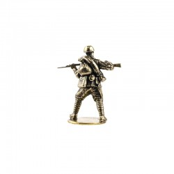 Russian Soldier Figurine in Assortment, bronze
