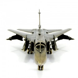 Scale model of the Russian SU-24 Tactical Bomber (1:72), bronze