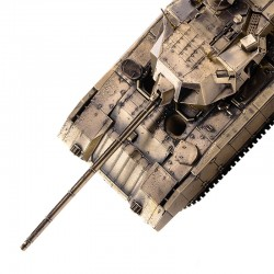 Scale model of the Russian T-14 Armata Tank Model (1:35), bronze
