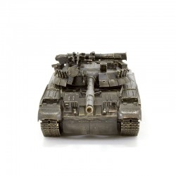 Scale model of the Russian T-80UD Tank Model (1:35), bronze