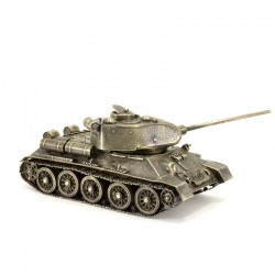 Scale model of the Russian T-34/85 tank (1:35) Tank, bronze