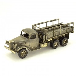 Scale model of the Russian 4.5-ton Military Truck ZIS-151 (1:35), bronze