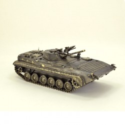Scale model of the Soviet combat maсhine BMP-1 Model (1:35), bronze