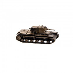 Scale model of the Russian KV-1 Tank, model1940 (1:100), bronze