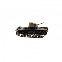 Scale model of the Russian XT-26 Soviet Fire-throwing Tank Model (1:100), bronze