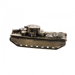 Scale model of the Russian T-35 Tank (1:100), bronze