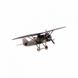 Scale model of the Russian ANT-5 Fighter (1:72), bronze