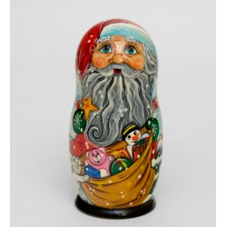 """Father Frost"" Set of 8 Miniature Nesting Dolls"