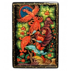 Russian Painted Box Holuy '' Firebird 'App. Petrov