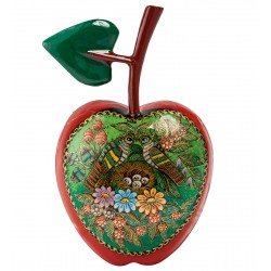 Russian Painted Box Palekh '' Apple ''